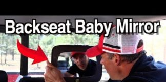 4 Things You Should Consider Before Buying a Backseat Baby Mirror/Camera